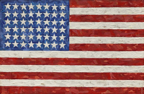 Flag, l'opera record di Jasper Johns