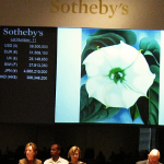 Georgia O'Keeffe, Jimson Weed, White Flower No 1 all'asta Sothebys