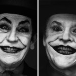 Herb Ritts - Jack Nicholson, London (1988) - by Sandro Miller, 2014