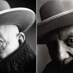 Irving Penn - Pablo Picasso, Cannes, France (1957) - by Sandro Miller, 2014