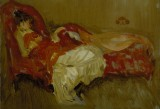 James Abbott McNeill Whistler, Note in Red The Siesta, 1884 ca. – © Terra Foundation for American Art