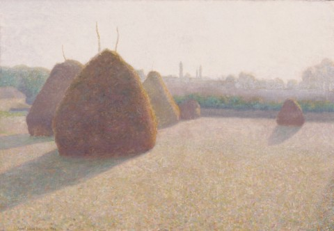 John Leslie Breck, Morning Fog and Sun, 1892 – © Terra Foundation for American Art