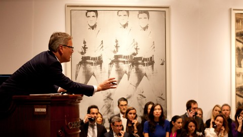 L'asta record da Christie's New York