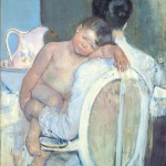 Mary Cassatt, Woman Sitting with a Child in Her Arms, 1890 ca. – © Museo de Bellas Artes de Bilbao