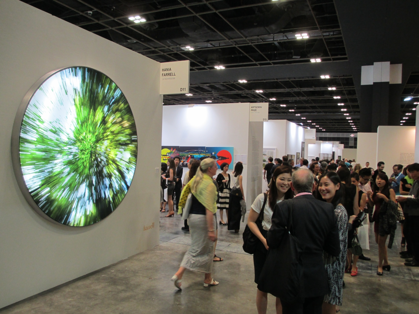 Com 39 andata la singapore art fair intervista con la for Craft fairs in louisiana