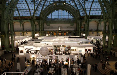 Vista dall'alto, Grand Palais, Paris Photo 2014 - foto Claudia Brivio 3