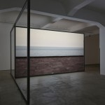 study for the installation at galleria fumagalli _ case malaparte _ horizon _ distorted video
