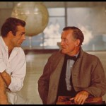 39. Sean Connery and author I. Fleming discuss the character of J. Bond while filming an interior scene for Dr. No. Copyright Notice - 1962 Danjaq, LLC and United A (800x533)