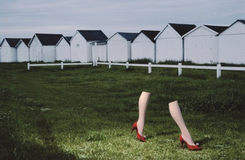 Charles Jourdan, Autumn 1979 - (c) The Guy Bourdin Estate, 2014 - Courtesy A+C