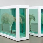 Damien Hirst, Away From The Flock (Divided), 1995