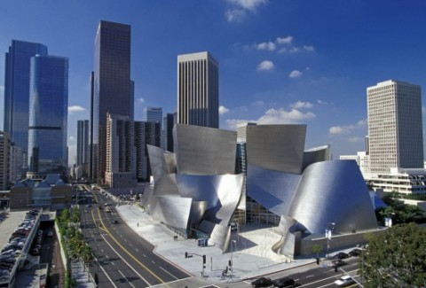 Frank Gehry, The Walt Disney Concert Hall, Los Angeles - photo Gehry Partners, LLP