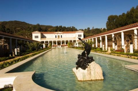 Getty Villa - Outer Peristyle - Photo Credits J. Paul Getty Trust
