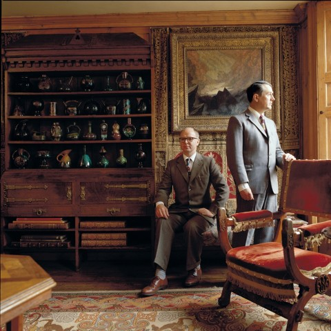 Gilbert & George, Courtesy Studio Gilbert & George - photo Derry Moore (1987)