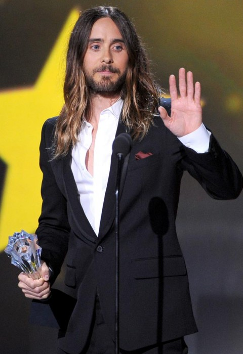 Jared Leto ai Critics' Choice Awards 2014 - photo Kevin Winter, Getty Images