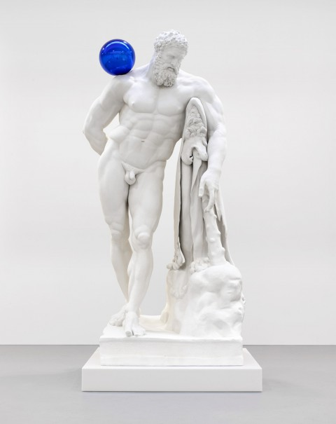 Jeff Koons, Gazing Ball (Farnese Hercules), 2013