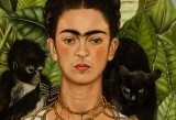 Frida Kahlo, Self-Portrait with Thorn Necklace and Hummingbird, 1940 Harry Ransom Center, The University of Texas at Austin © 2014 Banco de México Diego Rivera Frida Kahlo Museums Trust, Mexico, D.F. / Artists Rights Society (ARS), New York