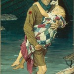 Norman Rockwell, A Scout is Helpful, 1939 - Collection of The Norman Rockwell Museum at Stockbridge_xl