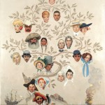 Norman Rockwell, Family Tree, 1959 - Collection of The Norman Rockwell Museum at Stockbridge_xl
