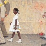 Norman Rockwell, The Problem We  All Live With, 1964 - Collection of The Norman Rockwell Museum at Stockbridge_xl