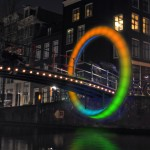 Rob van Houten, Circle of Life - Amsterdam Light Festival