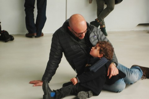 Simone Pappalardo e Gianni Trovalusci, Fields II - workshop e performance al MAXXI, 2014