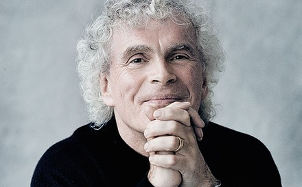 Sir Simon Rattle - Foto Jim Rakete