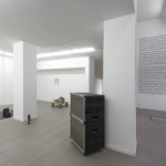 biotic/abiotic, 2014, installation view at The Gallery Apart Rome, photo by Giorgio Benni