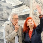 Christo e Jean-Claude, davanti al progetto per Over the river