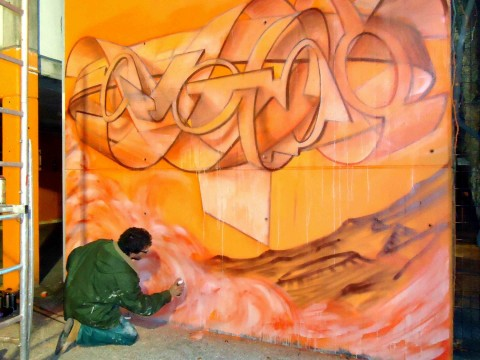 Dado al Meeting of Styles Italy, 2011, Venezia, Ph Giada Pellicari