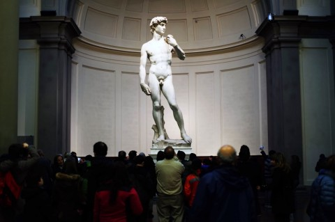 Il David di Michelangelo - Gallerie dell'Accademia, Firenze
