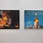 Jeff Koons, serie Luxury&Degradation, Hennesy, the civilized Way to Lay Down the Law, 1986 - The Empire of Stare of Scoth, Dewar's, 1986 © Silvia Neri