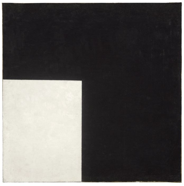 Kazimir Malevich, Black and White Sumprematist Composition, 1915 - Moderna Museet, Stockholm - Donation 2004 from Bengt and Jelena Jangfeldt