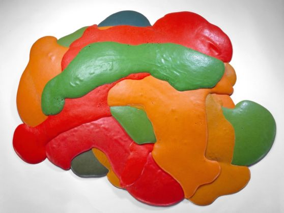 Lynda Benglis, Night Sherbert A, 1968 - Courtesy the artist and Cheim & Read, New York
