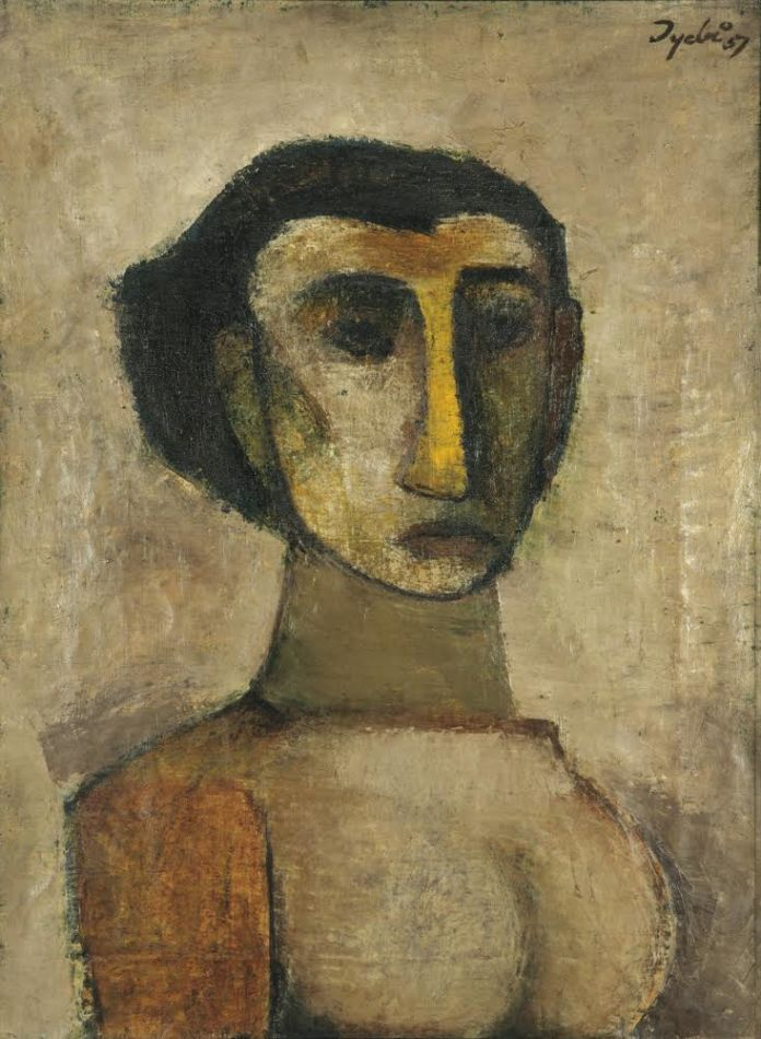 Tyeb Mehta, Girl in Love, 1957