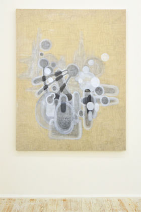 Alessia Xausa, Untitled, 2015, Graphite and oil on canvas, 180x140 cm
