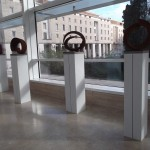 Beverly Pepper all'Ara Pacis 5