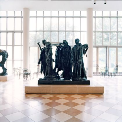 Candida Höfer, The Metropolitan Museum of Art New York II , 2000 - © Candida Höfer, Köln : VG Bild-Kunst, Bonn