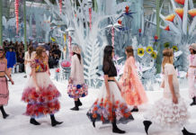 Chanel SS2015 - Grand Palais, Parigi