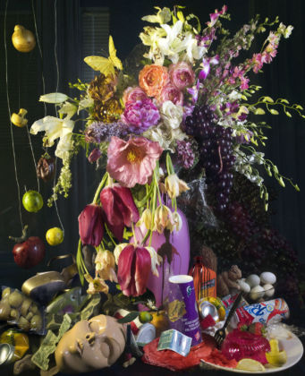 David LaChapelle, Late Summer (still life), fotografia, 114 x 96 cm. Collezione privata