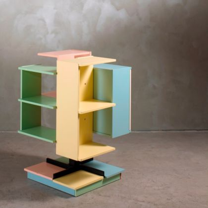 Design is a state of mind - Claudio Salocchi, Bookcase, 1960 Courtesy Nilufar Gallery