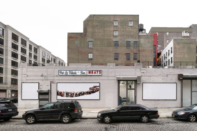 La sede di Gavin Brown in una ex macelleria a New York