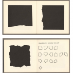 Sol LeWitt - Squares with sides and corners torn off, 1974