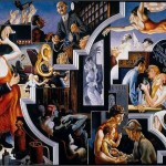 Thomas Hart Benton, City Activities with Dance Hall (America Today, 1931)