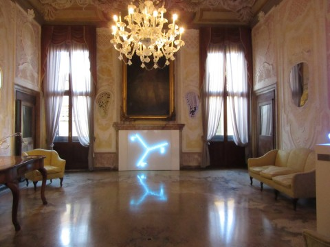 Within Light - Palazzo Loredan, Venezia 2015 - Eric Michel, Naissance d'un photon