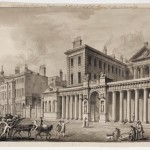 Adam Office, Perspective View in Parliament Street and the Screen for the Admiralty, 1760 ca.