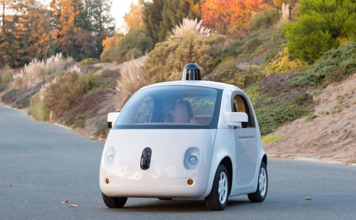 Designs of the Year 2015 - Google self-driving car