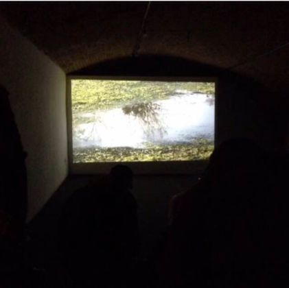 Elena Mazzi, LACUNA. Land of Hidden spaces, video HD, 12' col. 2014, Courtesy dell'artista