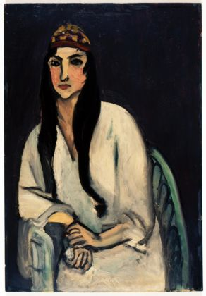 Henri Matisse, Giovane con copricapo persiano, 1915-16 ca. - Gerusalemme, The Sam and Ayala Zacks Collection in The Israel Museum - photo © The Israel Museum by Peter Lanyi