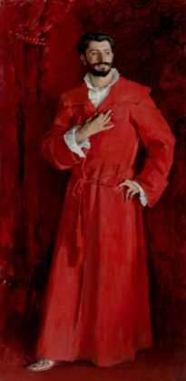 John Singer Sargent, Dr Pozzi at Home, 1881 - © The Armand Hammer Collection, Los Angeles