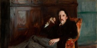 John Singer Sargent, Robert Louis Stevenson, 1887 © - courtesy of the Taft Museum of Art, Cincinnati, Ohio